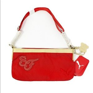 Ferrari Puma Red Handbag